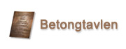 Logo for Betongtavlen